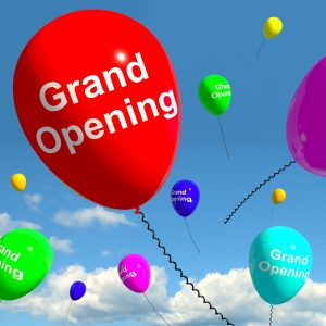 Grand Opening Balloons Showing