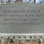 Author tombstone