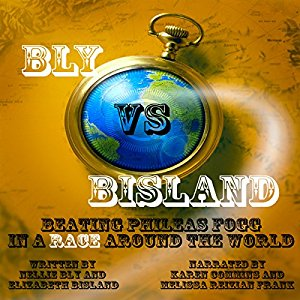 Bly vs Bisland cover art for the audiobook