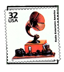 Gramophone stamp for RH info page