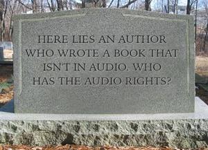 Author tombstone