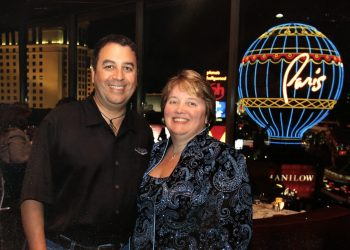 Karen and Drew at Paris Vegas